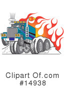 Royalty-Free (RF) transportation Clipart Illustration #14938