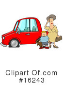 Royalty-Free (RF) transportation Clipart Illustration #16243