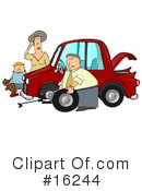 Royalty-Free (RF) Transportation Clipart Illustration #16244