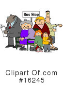 Royalty-Free (RF) Transportation Clipart Illustration #16245