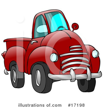 Pickup Clipart #17198 by djart