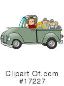 Royalty-Free (RF) transportation Clipart Illustration #17227