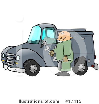 Mechanic Clipart #17413 by djart