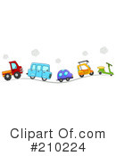 Royalty-Free (RF) Transportation Clipart Illustration #210224