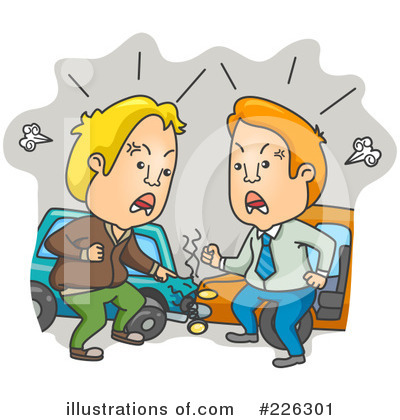 Car Wreck Clipart #226301 by BNP Design Studio