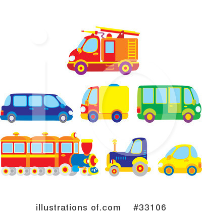 Fire Truck Clipart #33106 by Alex Bannykh