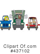 Transportation Clipart #437102 by toonaday