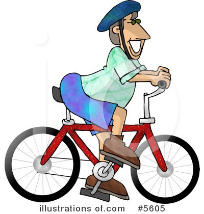 Bicycle Clipart #5605 by djart