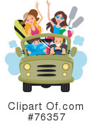 Royalty-Free (RF) Transportation Clipart Illustration #76357