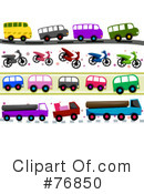 Royalty-Free (RF) Transportation Clipart Illustration #76850