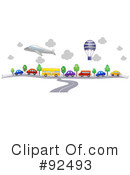 Royalty-Free (RF) Transportation Clipart Illustration #92493