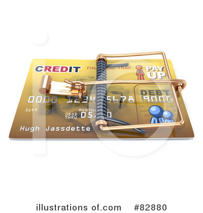 Credit Card Clipart #82880 by Leo Blanchette