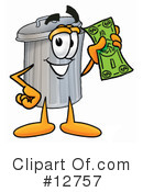 Trash Can Character Clipart #12757 by Toons4Biz