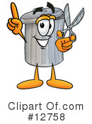 Trash Can Character Clipart #12758 by Toons4Biz