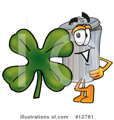 Royalty-Free (RF) Trash Can Character Clipart Illustration by Toons4Biz - Stock Sample #12761
