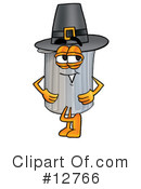Trash Can Character Clipart #12766 by Toons4Biz