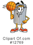 Trash Can Character Clipart #12769 by Toons4Biz