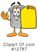 Trash Can Character Clipart #12787 by Toons4Biz