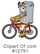 Trash Can Character Clipart #12791 by Toons4Biz