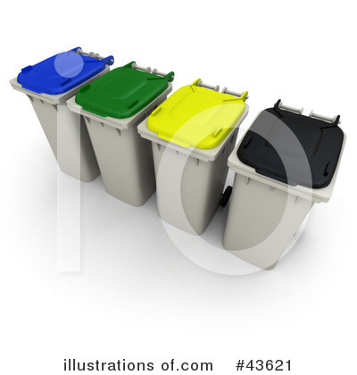 Garbage Clipart #43621 by Frank Boston