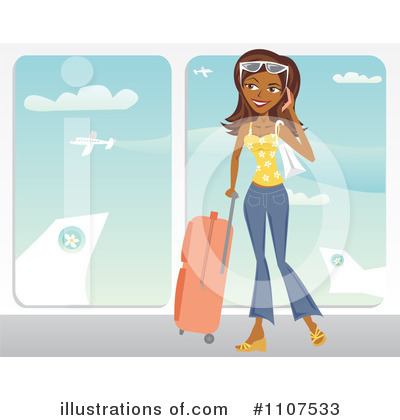 Travel Clipart #1107533 by Amanda Kate