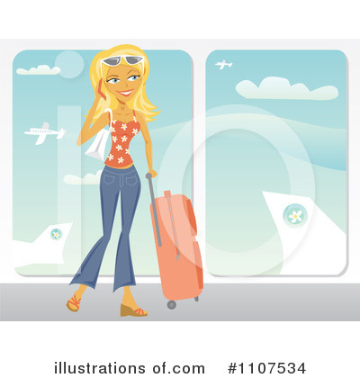 Travel Clipart #1107534 by Amanda Kate