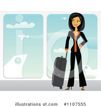 Asian Businesswoman Clipart #1107555 by Amanda Kate