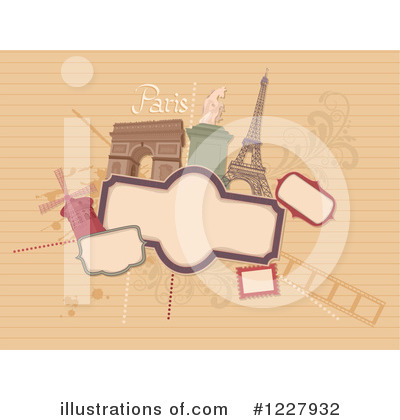 Paris Clipart #1227932 by BNP Design Studio