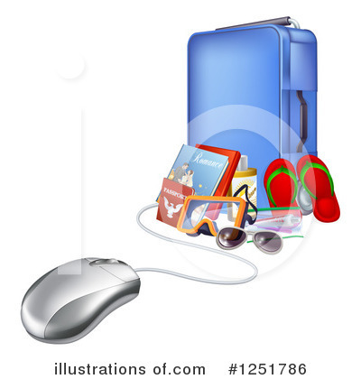Computer Clipart #1251786 by AtStockIllustration