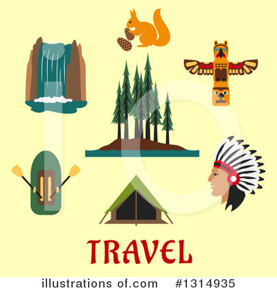 Raft Clipart #1314935 by Vector Tradition SM