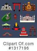 Travel Clipart #1317196 by Vector Tradition SM