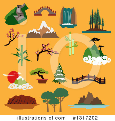 Bridge Clipart #1317202 by Vector Tradition SM