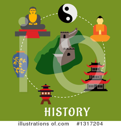 Pagoda Clipart #1317204 by Vector Tradition SM