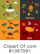 Royalty-Free (RF) Travel Clipart Illustration #1367091