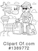 Travel Clipart #1389772 by visekart
