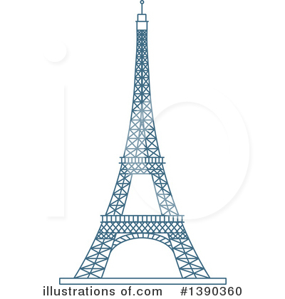 France Clipart #1390360 by Vector Tradition SM