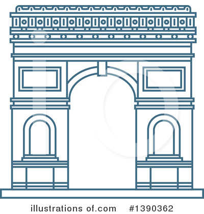 France Clipart #1390362 by Vector Tradition SM