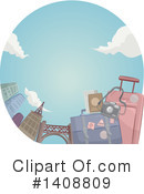 Travel Clipart #1408809 by BNP Design Studio