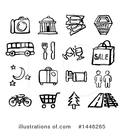 Tourism Clipart #1446265 by AtStockIllustration