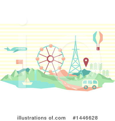 Road Clipart #1446628 by BNP Design Studio