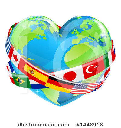 World Peace Clipart #1448918 by AtStockIllustration
