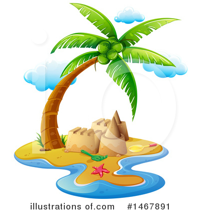 Island Clipart #1467891 by Graphics RF