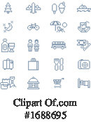 Travel Clipart #1688695 by AtStockIllustration