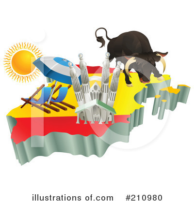 Flags Clipart #210980 by AtStockIllustration