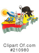 Royalty-Free (RF) Travel Clipart Illustration #210980