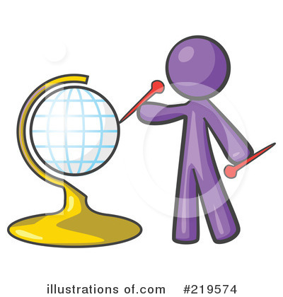 Purple Design Mascot Clipart #219574 by Leo Blanchette