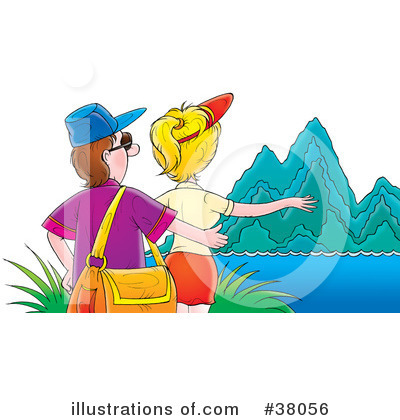 Couple Clipart #38056 by Alex Bannykh
