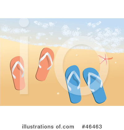 Sandals Clipart #46463 by Eugene