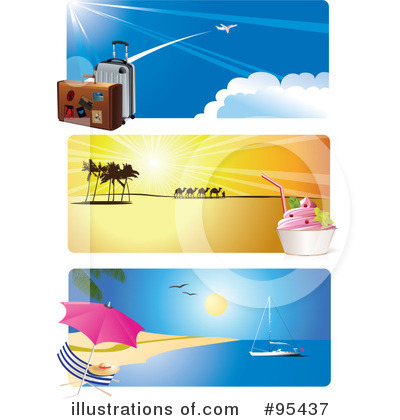 Beach Clipart #95437 by Eugene