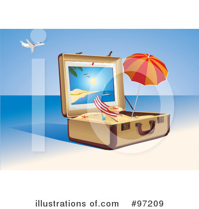 Beach Clipart #97209 by Eugene